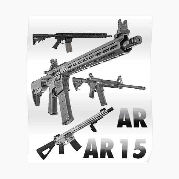 ar 15 poster by twaingrant redbubble