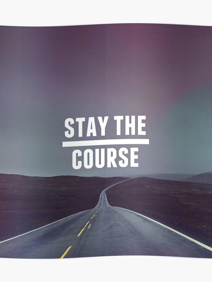 Image result for stay the course