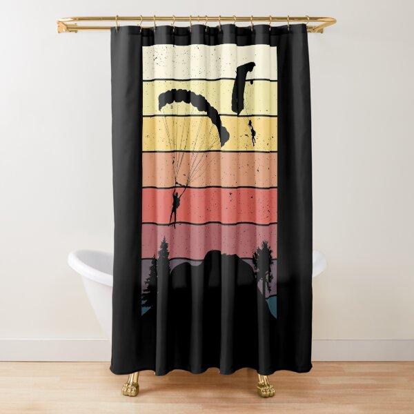 parachute shower curtains redbubble