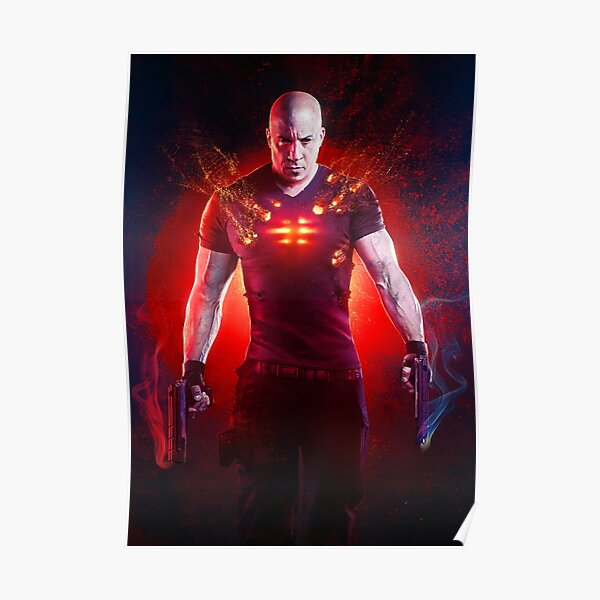 bloodshot movie posters redbubble