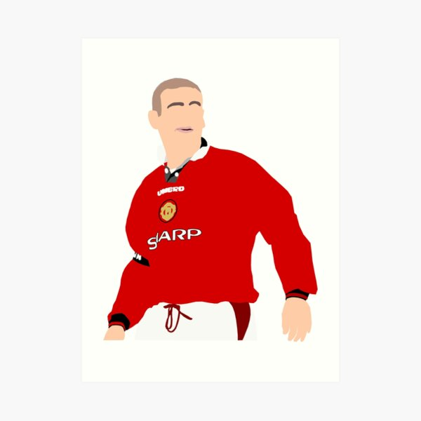 Sadio mane has compared naby keita's reaction to his goal against crystal palace to that of manchester united legend eric cantona's famous. Thierry Henry Iconic Goal Celebration Art Print By Impresionprint Redbubble