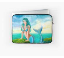 Fantasy Beautiful Young Woman Mermaid In Sea Throw