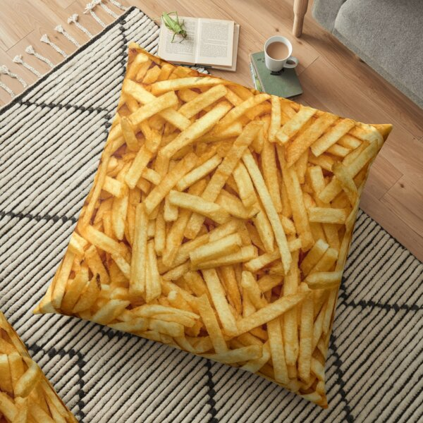 fries lover pillows cushions redbubble