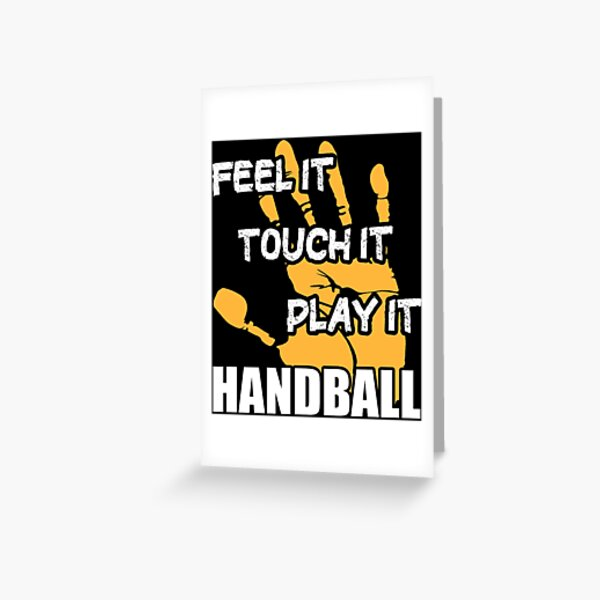 grusskarten handball zitate redbubble