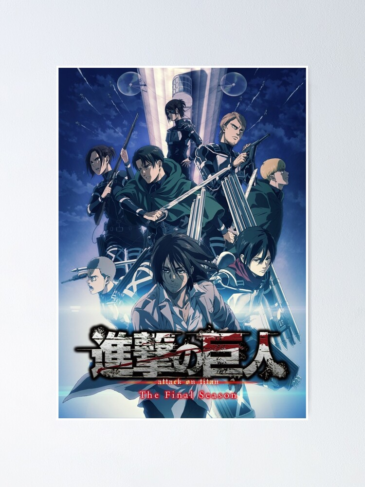 This item has been removed from the. Poster « EREN, SNK The Final Season, AOT season 4 », par ...