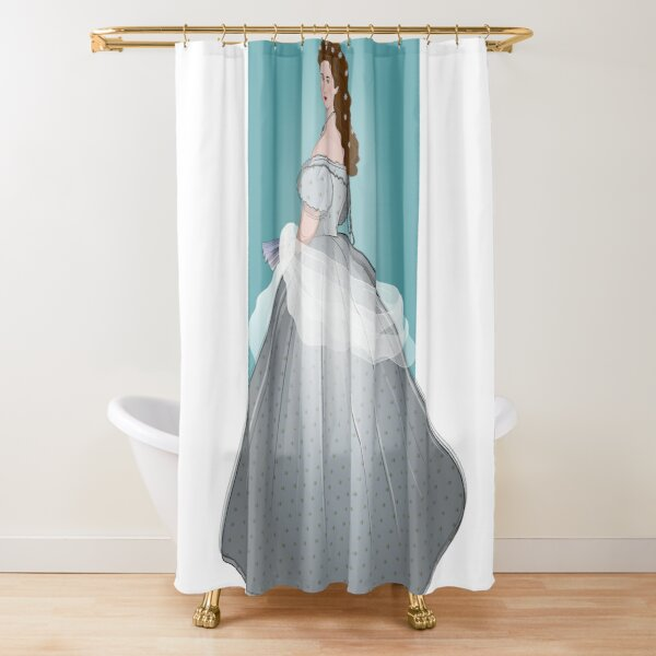 sissi shower curtains redbubble