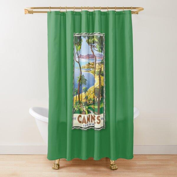 vintage france shower curtains redbubble