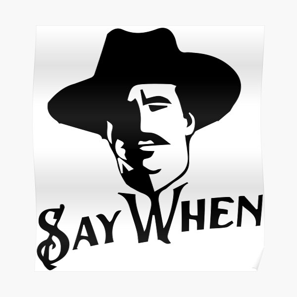 poster doc holliday redbubble