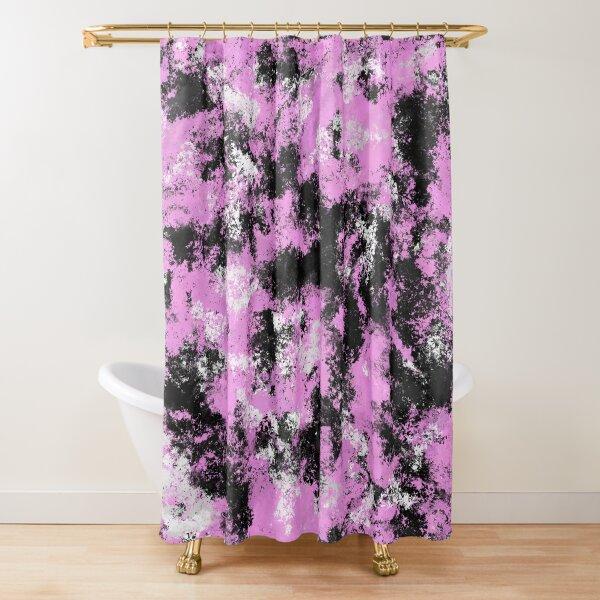 flamingo camo shower curtains redbubble