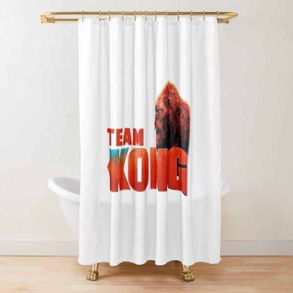 godzilla shower curtains redbubble