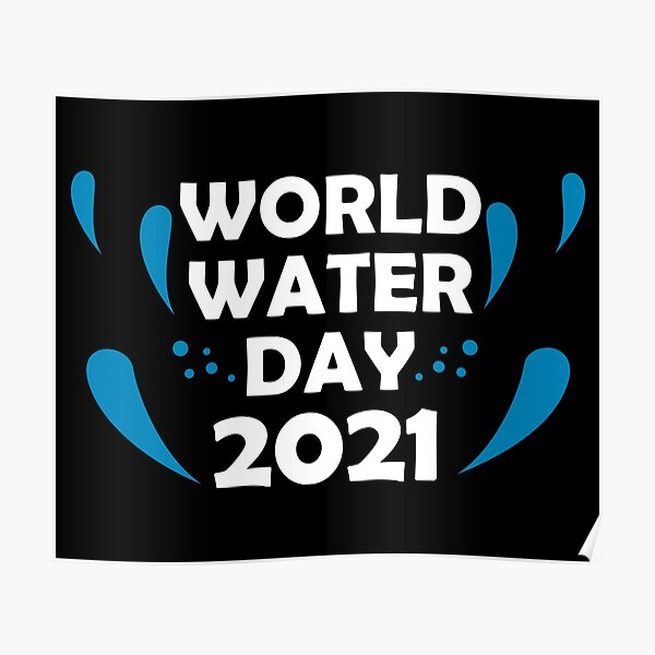 Corruption in the water sector's costly impact. World Water Day Posters Redbubble