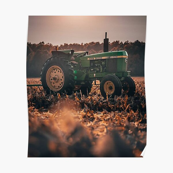 john deere traktor posters redbubble