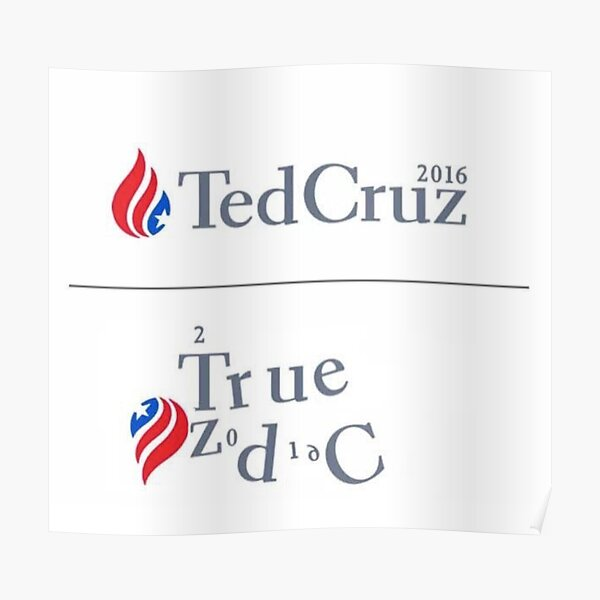 Authorities believe that the signature. Ted Cruz Is The Zodiac Killer Posters   Redbubble