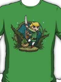 Legend of Zelda Wind Waker Forbidden Woods Temple T-Shirt