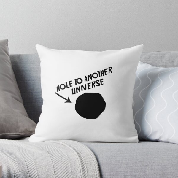 hole to another universe life is strange throw pillow by antogt redbubble