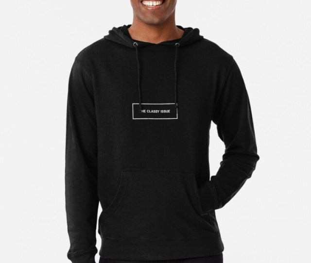 The Classy Issue Lightweight Hoodie