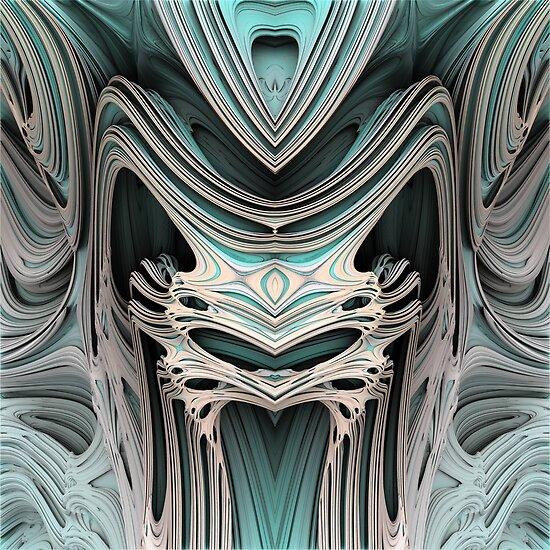 Cosmic creature #Fractal B