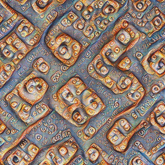 Frozen bubbles #DeepDream