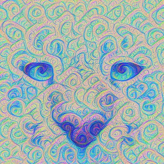 Ice Spirit #DeepDreamed