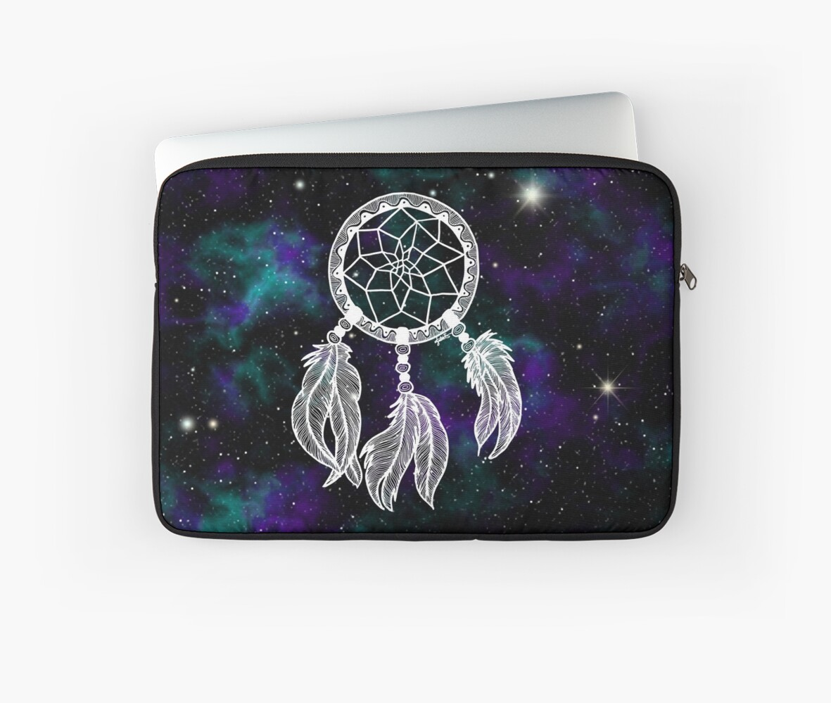 galaxy dreamcatcher dream catcher laptop sleeve gifts