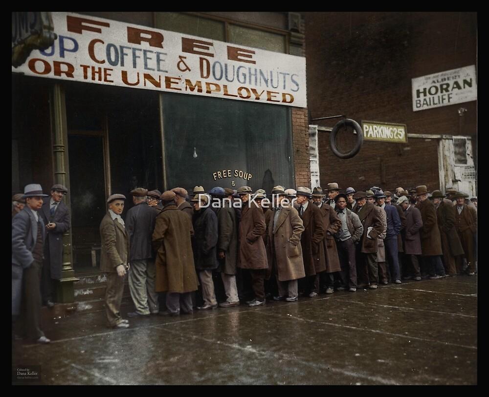 Al Capones Soup Kitchen Chicago 1931 By Dana Keller