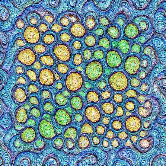 Frozen stones #DeepDream #Art