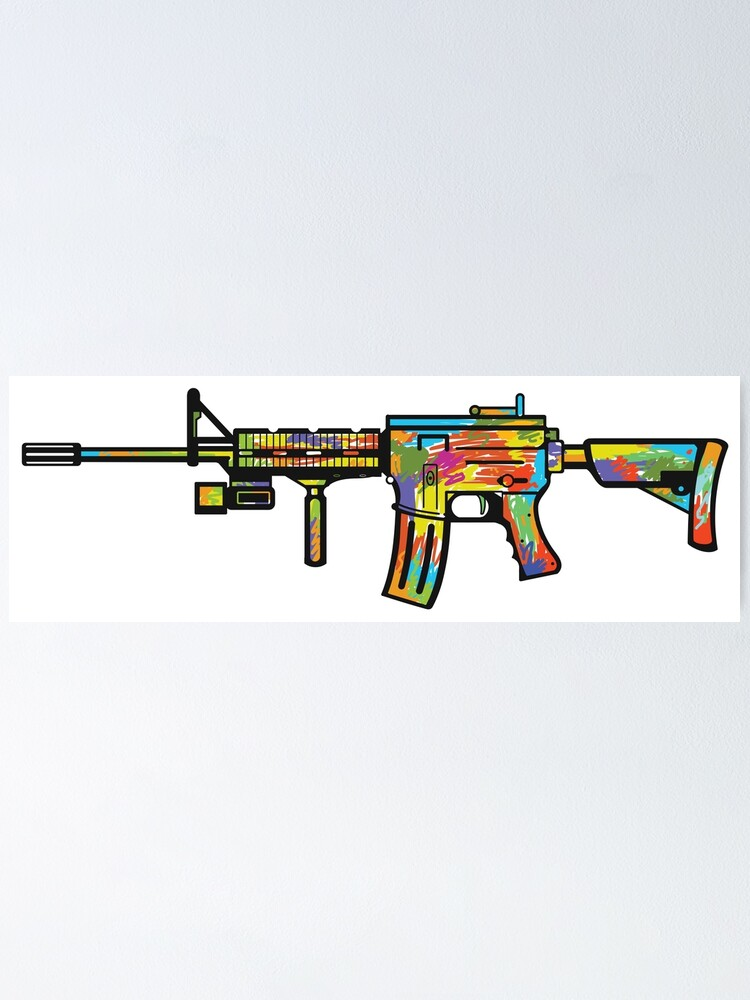 ar 15 expression poster by dergrafiker redbubble