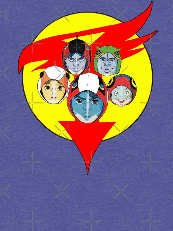 """Battle of the Planets aka Gatchaman Team"" T-shirt by ..."
