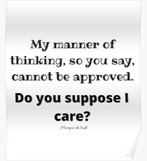 My Manner Of Thinking So You Say Cannot Be Approved Do You Suppose