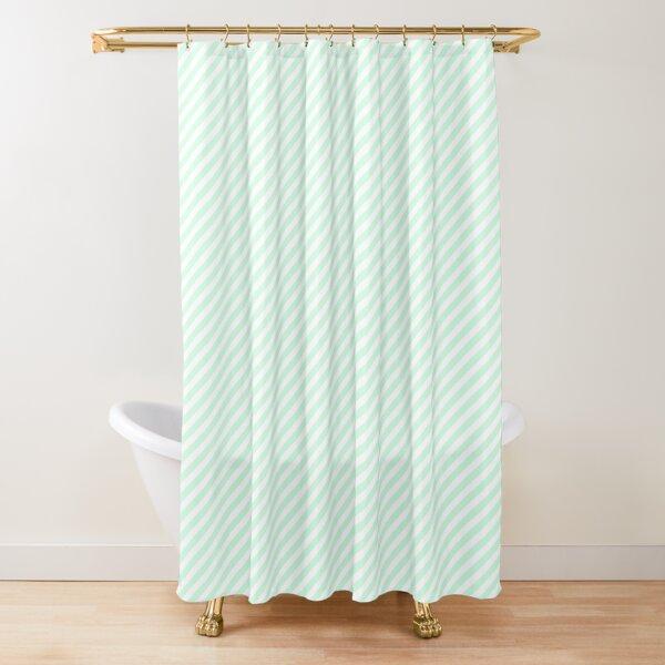 summermint green shower curtains redbubble