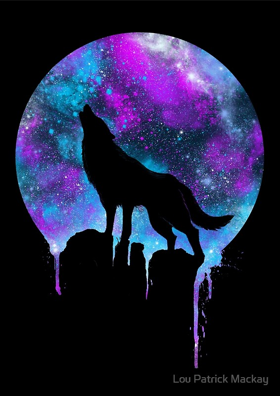 Space Howl By Lou Patrick Mackay Redbubble