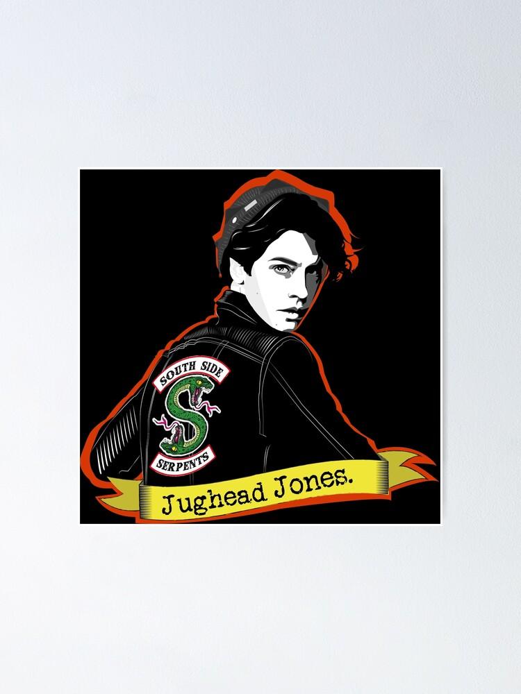 jughead jones cole sprouse riverdale poster von dalyrincon redbubble