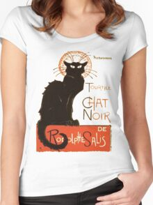 "Tournee Du Chat Noir - After Steinlein Shirts. Le Chat Noir – French for ""The Black Cat"")"