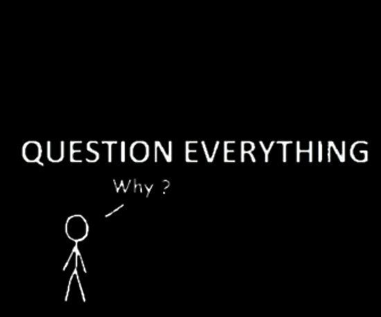 quotQuestion Everything quotWhyquotquot Posters by TheKalebFishStore
