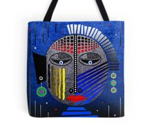 'Tribal Whimsy 12' Tote Bag by Glen Allison