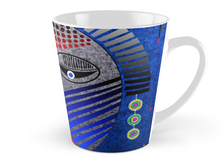 'Tribal Whimsy 12' Mug products by renowned vagabond fine art travel photographer, Glen Allison