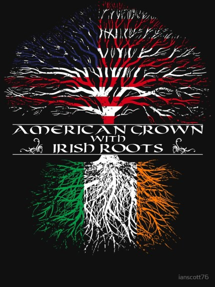 american grown with irish roots image