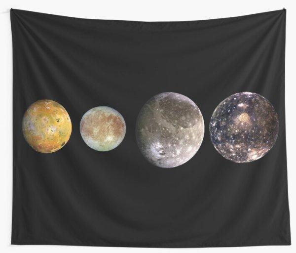quotThe four largest moons of Jupiter Galilean Satellites