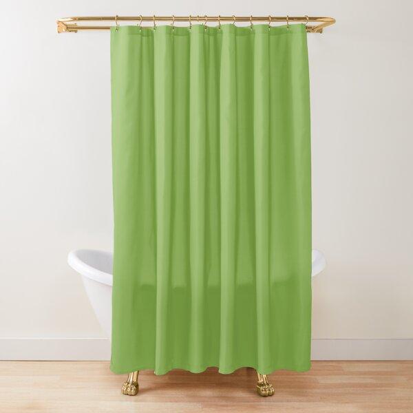 fluorescent green shower curtains redbubble