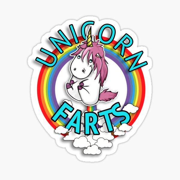 Download Unicorn Farts Stickers   Redbubble