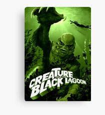 Creature From The Black Lagoon Classic Monster Canvas Print