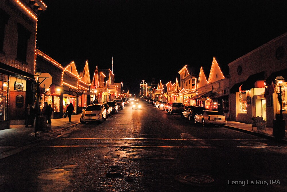 Broad Street Nevada City California December 20th By