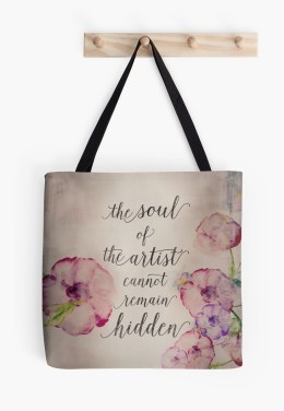 The Soul of The Artist Tote Bag by WOCADO