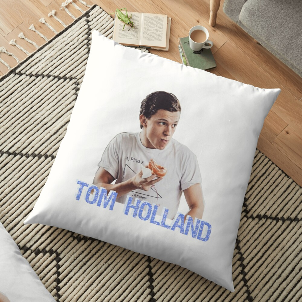 tom holland floor pillow by intoxication redbubble