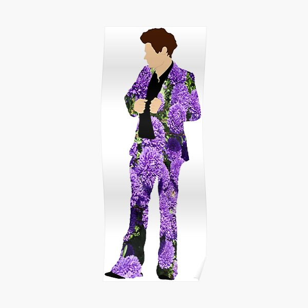 harry styles suit posters redbubble
