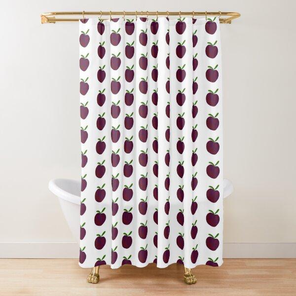 plum shower curtains redbubble