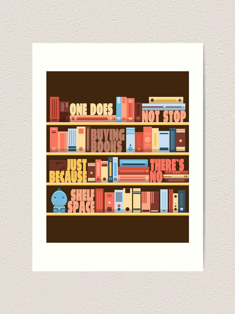 impression artistique acheter des livres livre de lecture bibliotheque de l espace bibliotheque bookworm par porcodiseno redbubble