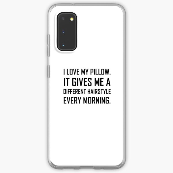 love pillow different hairstyle funny case skin for samsung galaxy by thebeststore redbubble