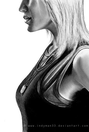 Kara Thrace Battlestar Galactica http://indyman33.deviantart.com/