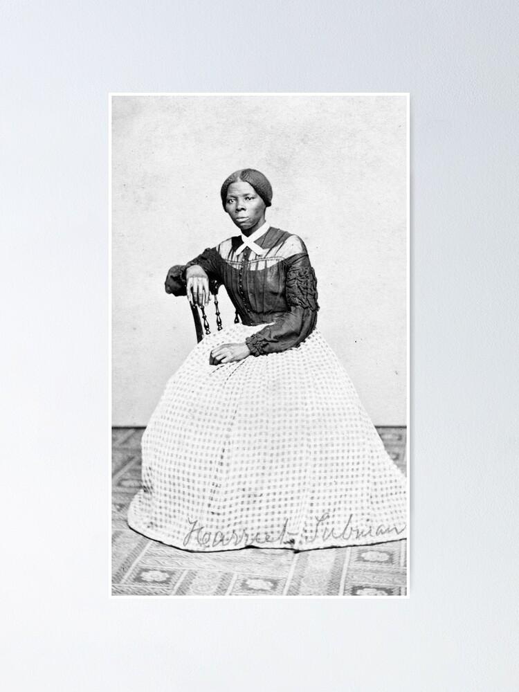 harriet tubman poster by promoteprogress redbubble
